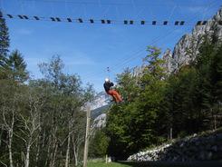 Klettersteig Johnsbach : Alpinpark gesäuse abenteuersport herwig rainer canyoning und